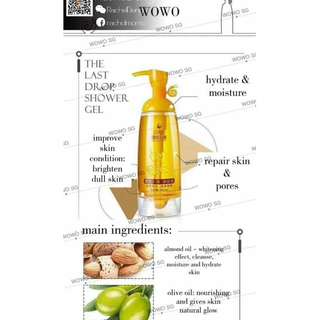 Wowo The Last Drop Shower Gel (HSA APPROVED)