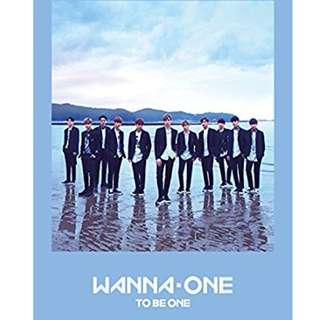 ONHAND SEALED WANNA ONE Mini Album Vol.1 (Sky Ver Available Only)