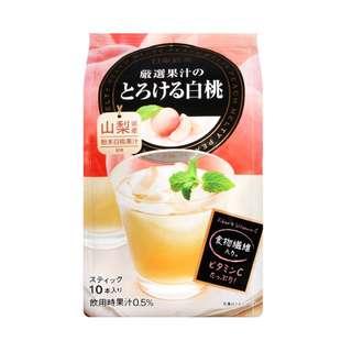 日本日東红茶 山梨白桃水果茶 (95gx10)