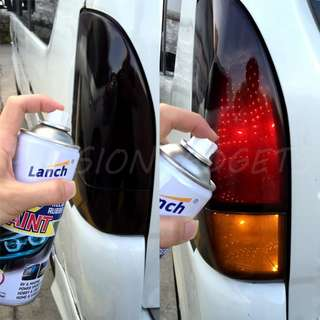 Lanch Spray Can on Car / Motorcycle Hand Tear
