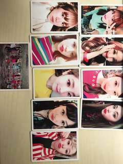 Twice [signal photo card set]