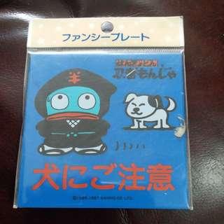 Sanrio日本絕版水怪/海怪Hangyohon 1987年膠牌