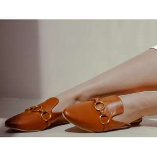 Brown Mules (Available: Size 5/7/8/10)