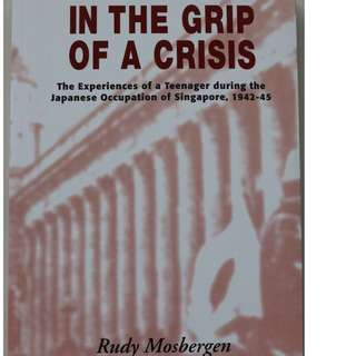 English books : In The Grip Of A Crisis   ( Author: Rudy Mosbergen )