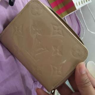 Louis vuitton vernis coin purse wallet