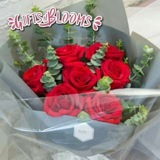 Special Love Bouquet Hers Fresh Flower V8 - JIULG