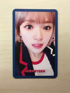 Twice Signal Photo Card [Jeongyeon] (Will give additional three TWICE yes cards)