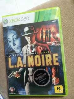 Xbox 360 l.a.noire