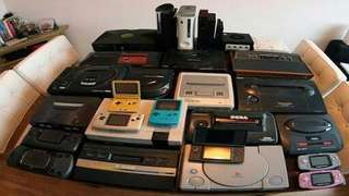 Buying old game console