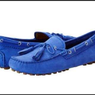 Coach Leather Shoes deep marine