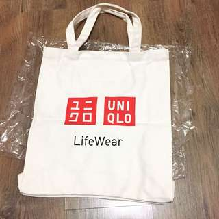 Uniqlo totebag