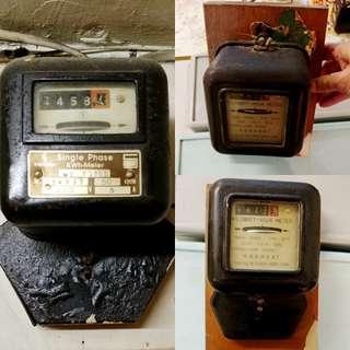 古老電錶儀。請自由出價