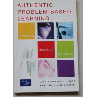 English books : Authentic Problem-Based Learning