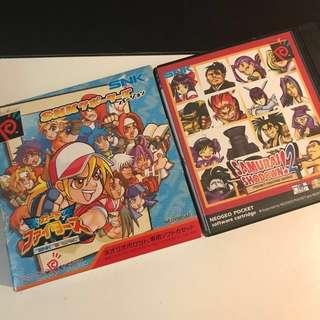 Neogeo Pocket Game (SNK VS Capcom / Samurai Shodown 2)