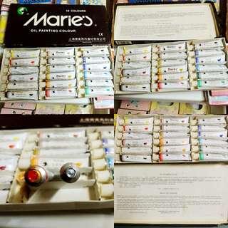 Marie's Oil Colours油畫顏料