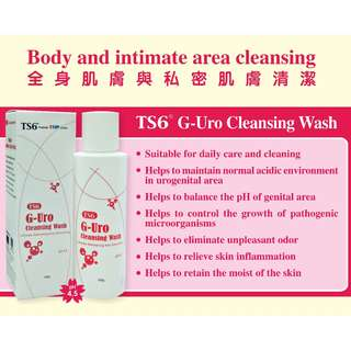 TS6 G-Uro Cleansing Wash