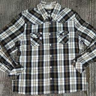 Kemeja flannel stylebasic