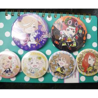 Assorted Anime Badge OFFICIAL