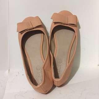 Peach pastel Shoes / sandals /flats
