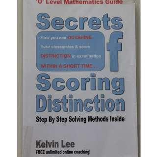 English Book : Secrets of Scoring Distinction ( Kelvin Lee )