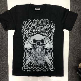 Amon Amarth - Bearded Skull T-shirt Band Merch (S/M/L)