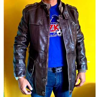 Soft Rugged Urban Wear Leather Jacket