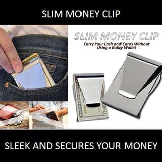 ★[NEW] SALE★ Dual Side Slim Money Clip: Carry Your Cash and Cards without Using a Bulky Wallet.