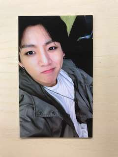 BTS 방탄소년단 the 4th mini album photocard [Jungkook] (will give additional three BTS yes cards)
