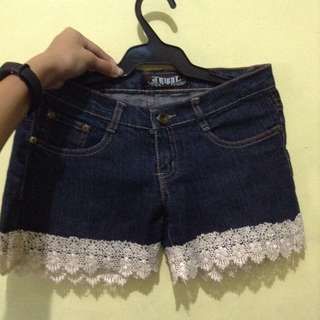 Tribal Lacy Short