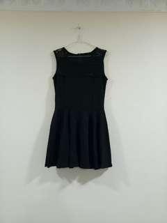 Black Flower Dress (MASIH BARU)