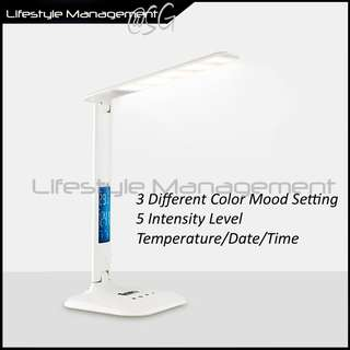 Portable/Foldable Table/Desk/LED Home/Office Reading Lamp/Light/Torchlight