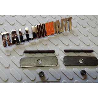 For Mitsubishi - RALLIART Grill Emblem