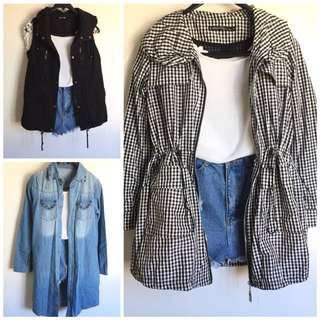3 for 999 Flash saleee!! Coat/Winter Coat/Jacket