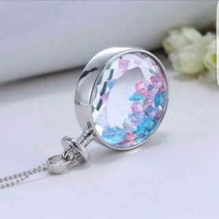 Brand New Necklace Pendant Charms With Crystals