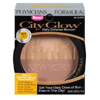 Physician's formula city glow daily defense bronzer, New York