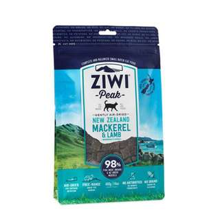 ZIWI PEAK AIR DRIED CAT FOOD – MACKEREL & LAMB 400G