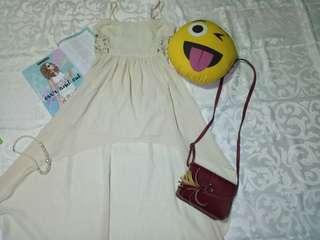 Lovetree White Longback Dress