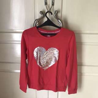 HARD CANDY RED SWEATER