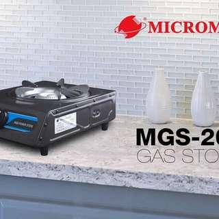 Micromatic single burner gas stove