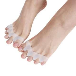 Bunion Toe Separator Straightener Corrector Foot Pain Relief (1 Pair)