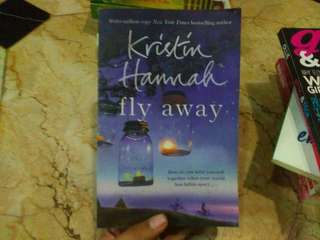 Novel Fly Away by kristin hannah #umn2018