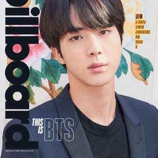 BTS billboard issues 連 poster JIN