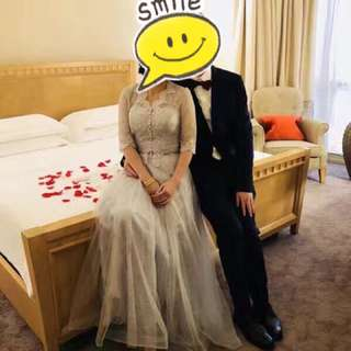 Wedding dress ,bridal