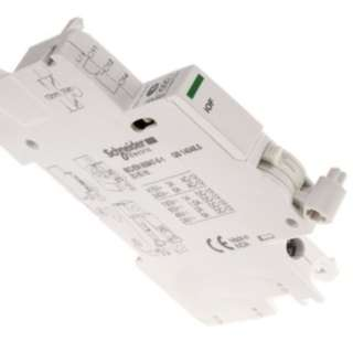 SCHNEIDER (A9A26924) DIN Rail Mount Auxiliary Contact with Screw Terminal, NO/NC, 2 A dc, 6 A ac, 24 → 130 V dc, 240 → 415 V ac