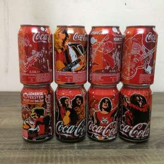 Coca-cola Music Festival set of 8