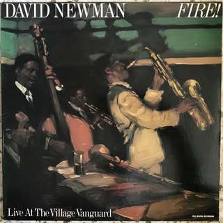 David Newman* ‎– Fire! Live At The Village Vanguard LP