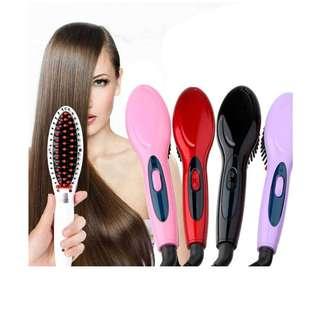 Electric Hair Straightener Hair Brush