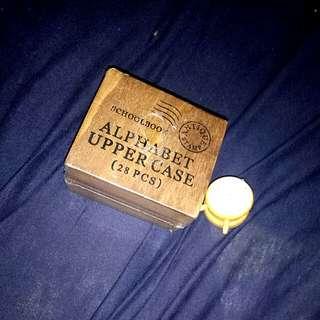 ONHAND: ALPHABET STAMP