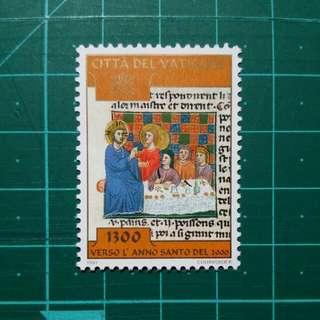 [贈品]1997 梵蒂岡 邁向2000年 新票一枚