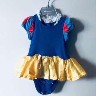 Preloved Authentic Disney Baby Snow White Costume